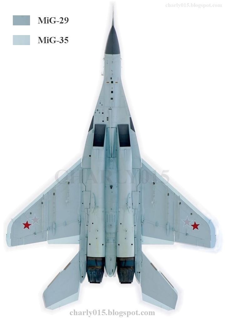 Análisis Militares: Comparando el MiG-35 con el MiG-29