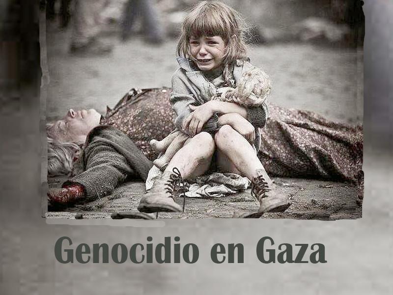 Las acciones de Israel en Gaza son un crimen de guerra.