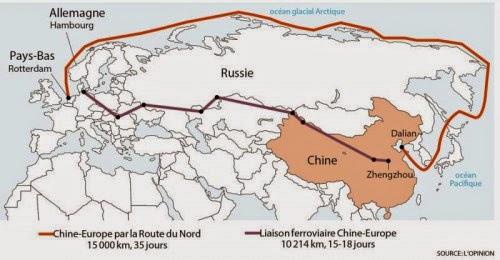 Orden mundial gélido: Rusia y China juntas en la Ruta de la Seda Polar |  SurySur