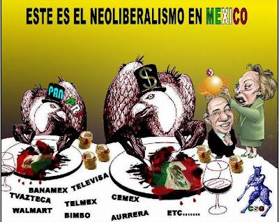 ESTRUCTURA SOCIO ECONÓMICA DE MÉXICO.: Modelo neoliberal.