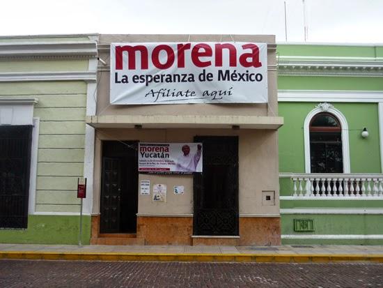 Libertad de Expresión Yucatán (LEY): Ya inició la carnicería en Morena  Yucatán por los huesos